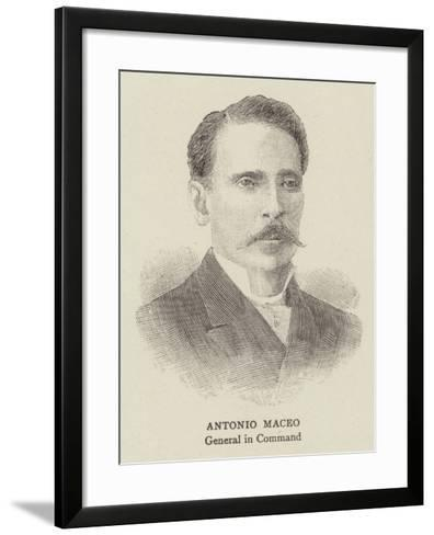 Antonio Maceo--Framed Art Print