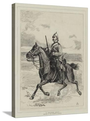 A Dragoon Scout--Stretched Canvas Print