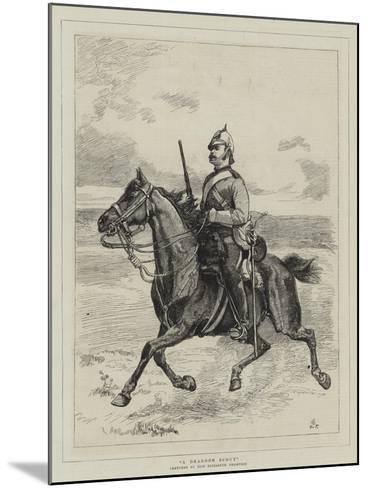 A Dragoon Scout--Mounted Giclee Print