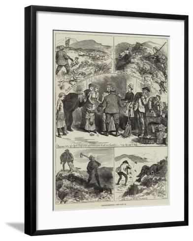 Grouse-Shooting--Framed Art Print