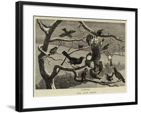 The Late Forest--Framed Art Print