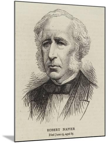 Robert Napier--Mounted Giclee Print