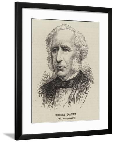 Robert Napier--Framed Art Print