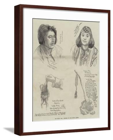The Modoc War--Framed Art Print