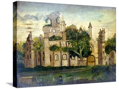 Kirkstall Abbey--Stretched Canvas Print