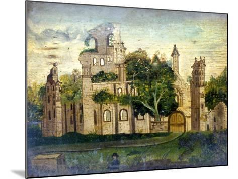 Kirkstall Abbey--Mounted Giclee Print