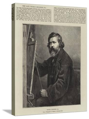 Thomas Creswick--Stretched Canvas Print