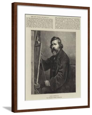 Thomas Creswick--Framed Art Print