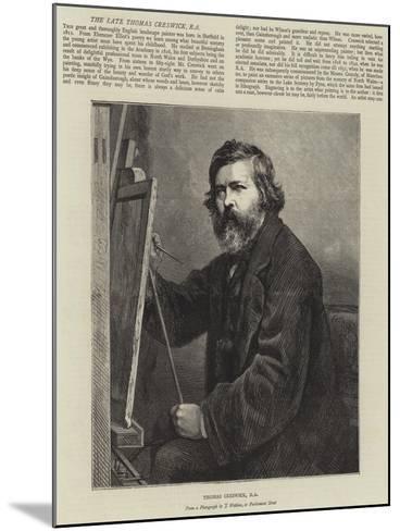 Thomas Creswick--Mounted Giclee Print