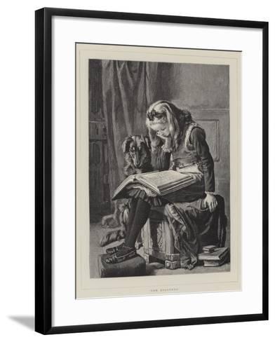 The Students--Framed Art Print