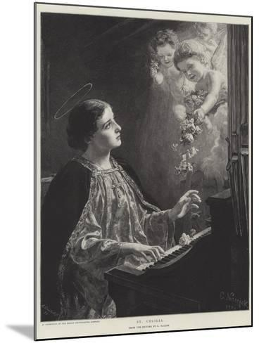 St Cecilia--Mounted Giclee Print
