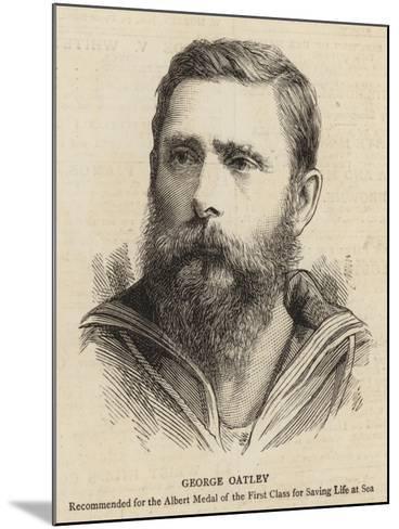 George Oatley--Mounted Giclee Print