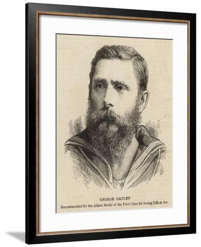 George Oatley--Framed Art Print
