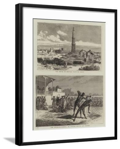 Views in India--Framed Art Print