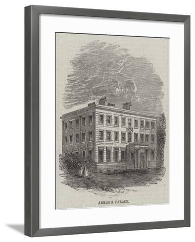 Armagh Palace--Framed Art Print