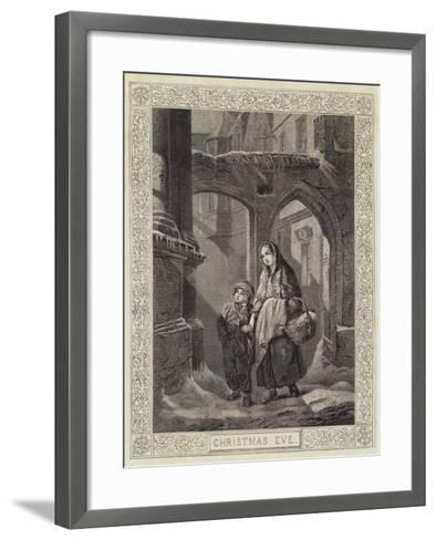Christmas Eve--Framed Art Print