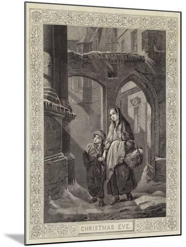 Christmas Eve--Mounted Giclee Print