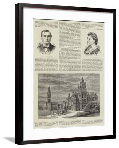 Eaton Hall--Framed Art Print