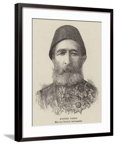 Rustem Pasha--Framed Art Print