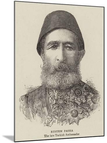 Rustem Pasha--Mounted Giclee Print