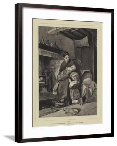 Evening--Framed Art Print