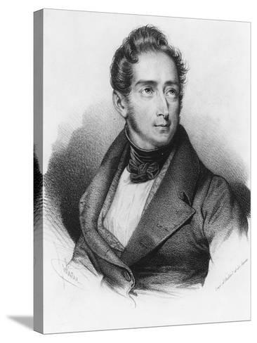 Alphonse De Lamartine--Stretched Canvas Print