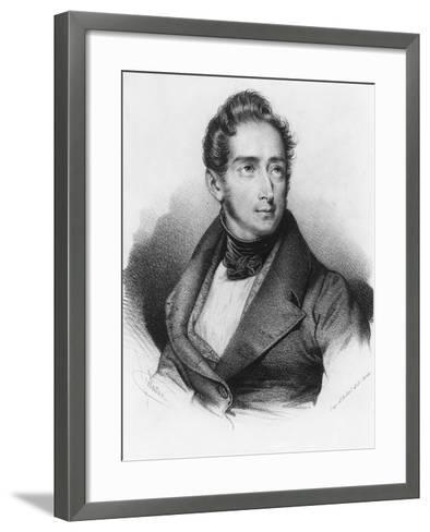 Alphonse De Lamartine--Framed Art Print