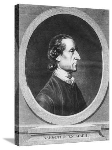 Johann Kaspar Lavater--Stretched Canvas Print