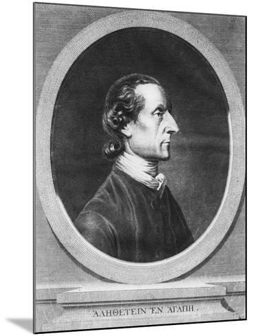 Johann Kaspar Lavater--Mounted Giclee Print