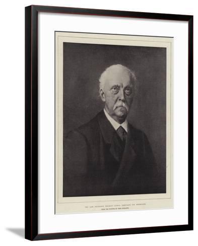 The Late Professor Hermann Ludwig Ferdinand Von Helmholtz--Framed Art Print