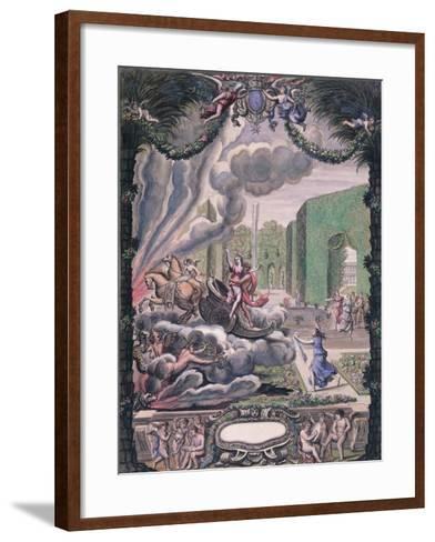 Theatre Scene, Late 17th Century--Framed Art Print
