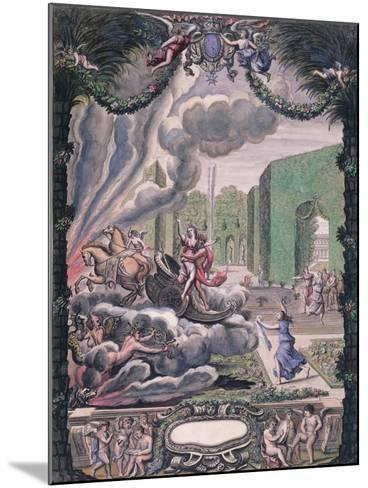Theatre Scene, Late 17th Century--Mounted Giclee Print