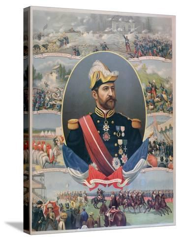 The Life of General Georges Ernest Boulanger (1837-91), C.1886--Stretched Canvas Print