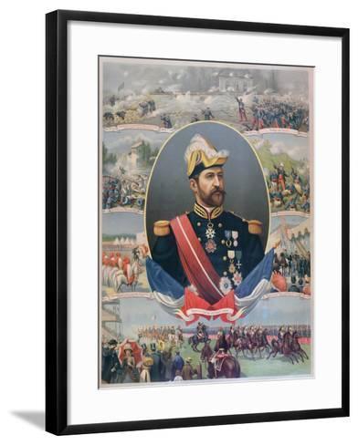 The Life of General Georges Ernest Boulanger (1837-91), C.1886--Framed Art Print