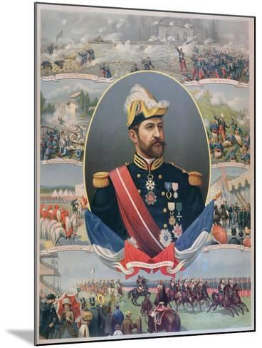 The Life of General Georges Ernest Boulanger (1837-91), C.1886--Mounted Giclee Print