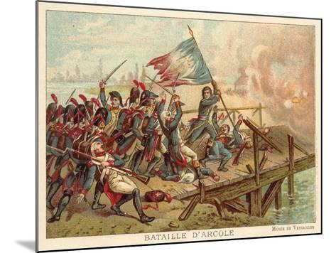 Battle of the Bridge of Arcole, Italy, 1796--Mounted Giclee Print