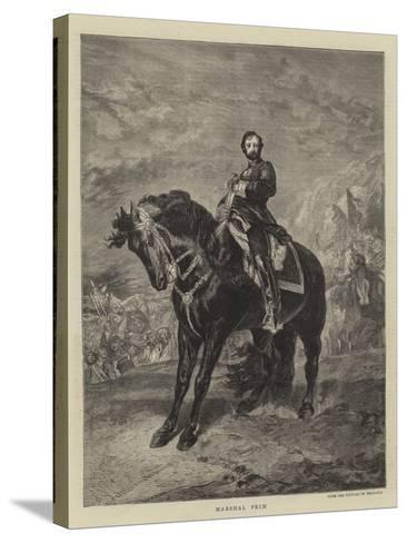 Marshal Prim--Stretched Canvas Print
