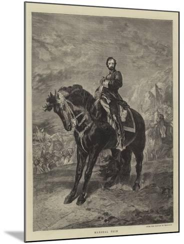 Marshal Prim--Mounted Giclee Print