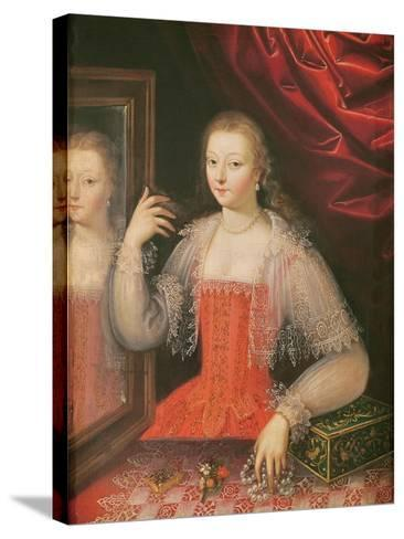 Portrait of a Woman--Stretched Canvas Print