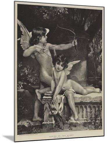 Cupids on the Alert--Mounted Giclee Print
