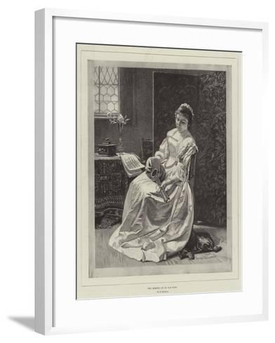 The Memory of an Old Song--Framed Art Print