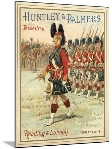 Soldiers of a Highland Regiment on Parade--Mounted Giclee Print