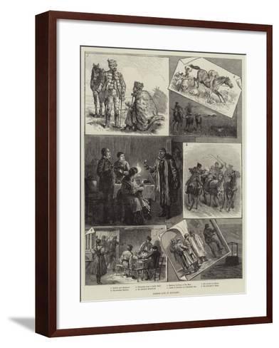 Robber Life in Hungary--Framed Art Print