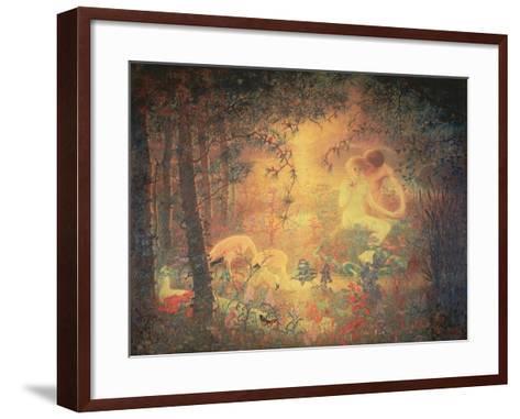The Garden of Eden--Framed Art Print