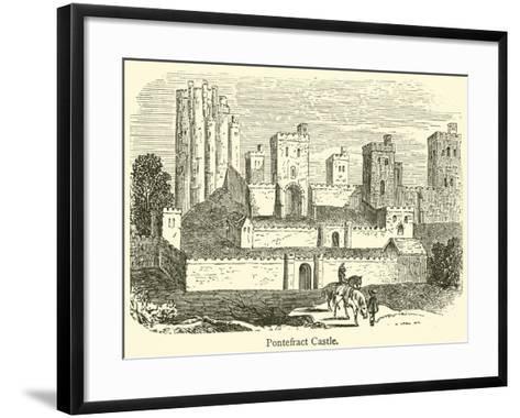 Pontefract Castle--Framed Art Print
