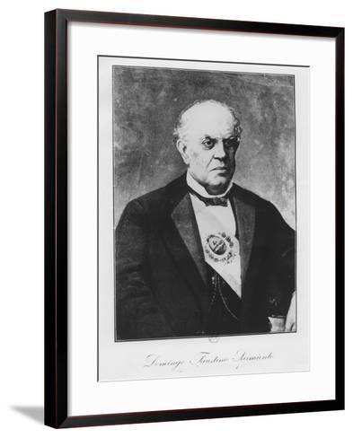 Domingo Faustino Sarmiento--Framed Art Print