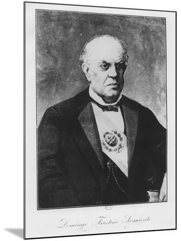 Domingo Faustino Sarmiento--Mounted Giclee Print