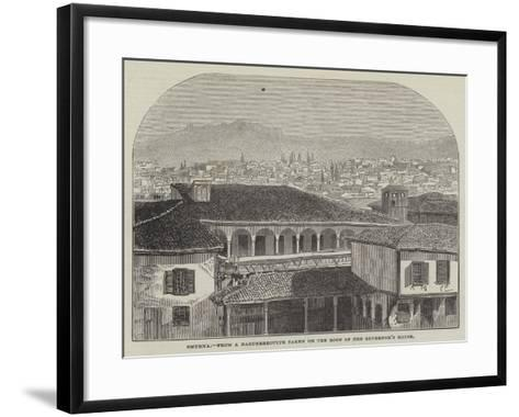 Smyrna--Framed Art Print