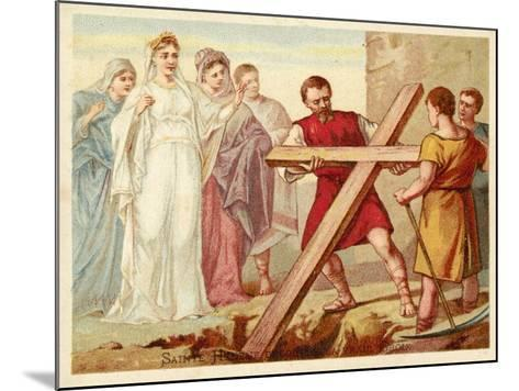 St Helena Discovering the True Cross--Mounted Giclee Print