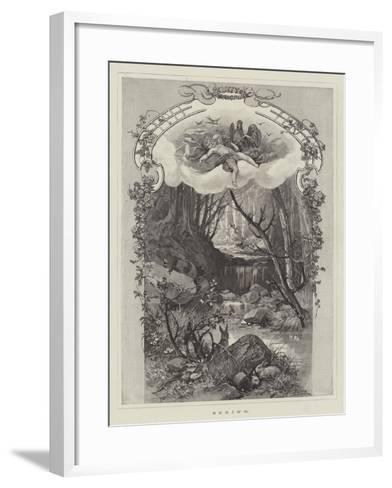 Spring--Framed Art Print